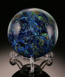 Azurite Malachite Sphere