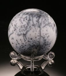 Winter (Montana) Agate Sphere