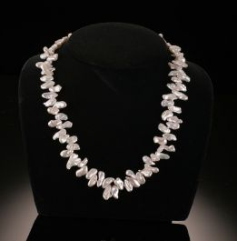 Branch Pearl Necklace