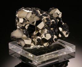 Pyrite and Sphalerite