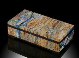 Azurite/Malachite Handmade Box