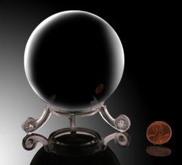 """2-1/2"""" Obsidian Sphere"""