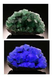 Fluorite from Rogerley Quarry
