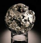 Cavernous Pyrite Sphere